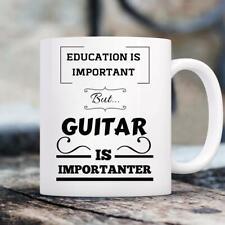 Guitar Mug - Gifts For Guitar Players - Gifts For Musicians - Novelty Mug