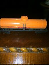 vintage HO orange Shell gas dome tanker Needs Couplers