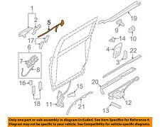KIA OEM 06-12 Sedona Side Sliding Door-Lock 814104D000