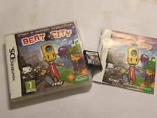 Beat City NINTENDO DS NDS DSL DSi XL JUEGO COMPLETO PAL UK/euro