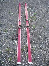 Skis/ski Rossignol combiné ancien/planche de bois/luge