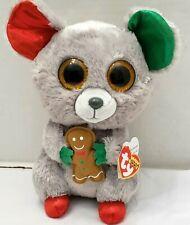 Beanie Boos ty Christmas Plush Mac December Big TYsilk Mouse Ginger Man Glitter