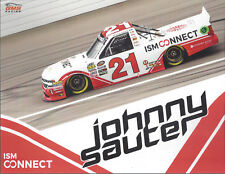 "2012 JOHNNY SAUTER /""HOT HONEYS/"" #13 NASCAR CWTS 1ST VERSION POSTCARD"
