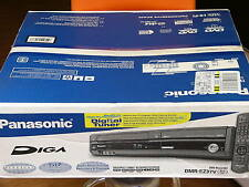 NEW Panasonic DMR-EZ37V DVD VCR Recorder Player Combo Built-In ATSC Tuner Black