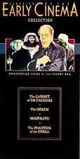 DVD SET: Cabinet Dr. Caligari / Golem / Nosferatu / Phantom of Opera NEW Fr ship