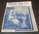 Vtg 1949 Sheet Music MOCKIN' BIRD HILL Vaughn Horton for sale