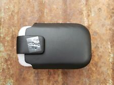 NEW BLACKBERRY SWIVEL HOLSTER BLACK LEATHER POUCH CASE HDW-31347-001