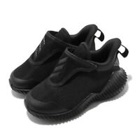 adidas FortaRun AC I Black Grey TD Toddler Infant Baby Shoes Sneakers EF0147