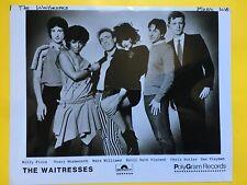 The Waitresses Press Photo 8x10, Holly Beth Vincent, Chris Butler Polydor,
