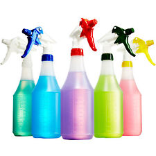 [10-Pack] Leak-Free Nozzle & 24 Oz. Industrial Spray Bottle Plastic by Mop Mob