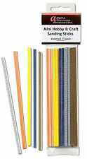Alpha Abrasives - #0101 Mini Hobby and Craft Sanding Sticks