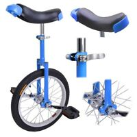 "16"" Wheel Unicycle Cycling 2.1"" Tire djustable Height For Balance Exercise Gift"