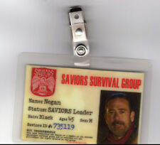 The Walking Dead Id Badge - Saviors Leader Negan cosplay costume prop