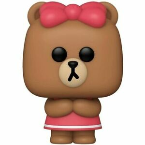 Adorable Funko Pop! Animation Line Friends Choco 3.75 Inches Vinyl Toy Figure