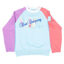 Best Company Colourblock Sweater Jumper 69 2070 in Cielo Blue - Various Sizes