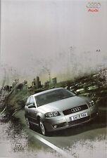 Prospekt / Brochure Audi A3 05/2003 mit Details in Mappe