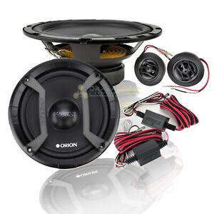 2 Orion CO652C Cobalt 6.5 Inch 2-Way Component System 500 Watt Car Speaker Pair