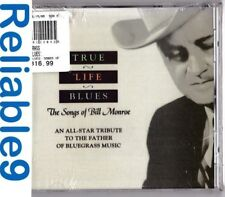 True Life Blues The songs of Bill Monroe CD Sealed- 1996 Sugar Hill- Made in USA