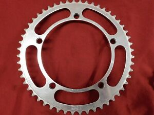 Used Vintage Campagnolo #753 Nuovo Record Road Chainring 52t x 144 mm BCD Silver