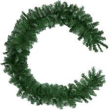 Weihnachtsgirlande Tannen Girlande Dekoration Schnee Innen Außen 270 cm grün