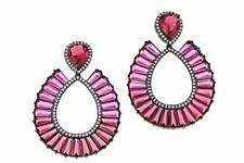 Nicole Romano Diora Swing Earrings with Jackets Retail $90