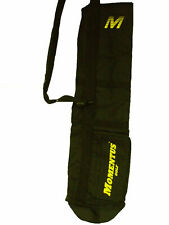 "Momentus Golf Sunday Bag (Black, 8"" x 32"") Golf Carry Bag NEW"