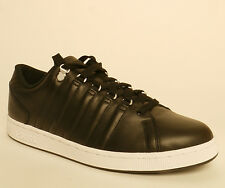 K-Swiss Lozan III Mens Black Trainers Size 11 Leather New £33.99