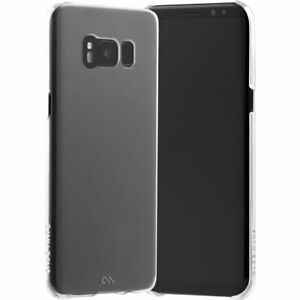 Clear Case Cover for Samsung Galaxy S8 G950F Barely There Slim-Fit by Case-Mate