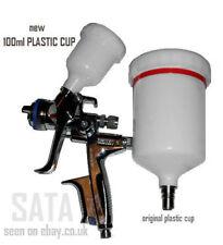NEW 100ml cup for full size SATA spray guns 4000, 3000,  minijet 4400 B RP HVLP