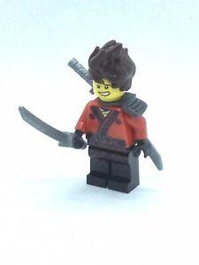 "Lego Minifig The LEGO Ninjago Movie ""Kai, Hair, Pearl Dark Gray Scabbard"" njo360"