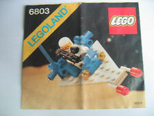 Lego Classic Space 6803 Bauanleitung, only Instructions