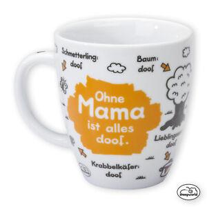 "Sheepworld ""Ohne Mama ist alles doof"" Muttertag Geschenk Muttertagsgeschenk Mom"