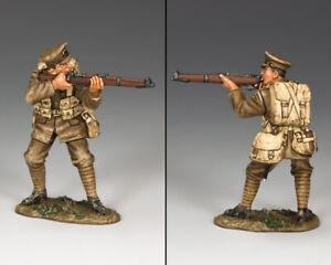 KING & COUNTRY FIRST WAR FW141 WW1 BRITISH STANDING FIRING RIFLE MIB