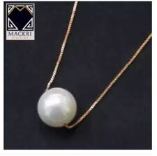 MACKRI NXH15177 Classic Pearl Serpentine Gold Chain Necklace