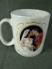 Prince William Kate Middleton Royal Wedding Photo Coffee Mug Buckingham Palace