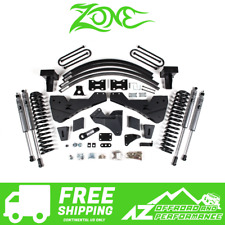 "Zone Offroad 8"" Radius Arm Drop Suspension System 11-16 Ford F250 F350"