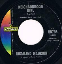 Rosalind Madison Neighborhood Girl Northern Soul  Liberty