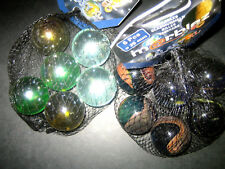 6 Stück Wunderbare Murmeln Glasmurmeln Durchmesser 35mm Riesenmurmeln