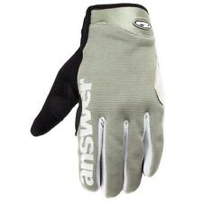 Answer Fall Line XC MTB Full Finger Gloves Gray - Small S  - Retail $30