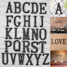 Metallbuchstaben Alphabet Gusseisen Haus Zeichen Türplatte Cafe Wanddekoration