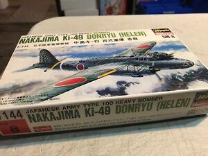 """HASEGAWA 1/144 NAKAJIMA KI-49 DONRYU (""""HELEN"""") NOS"""