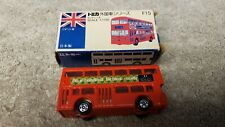 Vintage Tomica London Bus No. F15 1/130 Scale Boxed