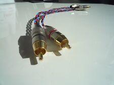 Kimber Kable PBJ Stereo Cinchkabel NF-Kabel 0,75m vergoldete Stecker