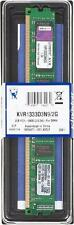 Memoria Ram KINGSTON KVR1333D3N9/2G DDR3 2GB DESKTOP PC FISSO 1333Mhz 240-pin