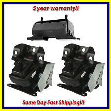 2007-2014 Cadillac Escalade / ESV / EXT Motor & Trans. Mount Set 3PCS for Auto.