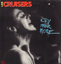 CRUISERS - CRY FOR MORE (1987 ROCKABILLY VINYL LP GERMANY + INSERTS)