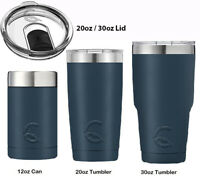CASCADE TUMBLER 12OZ CAN 20OZ 30OZ RAMBLER INSULATED STAINLESS STEEL COOLER CUP