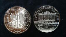 1,50 € Argent/ silver Autriche philharmonique/ philharmonics 1 OZ 2013