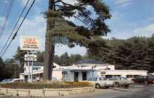 Gray Maine Cole Farms Street View Vintage Postcard K14375