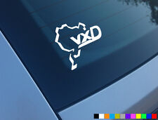 VXD NURBURGRING CAR STICKER FUNNY CORSA ASTRA JDM DECAL WINDOW DIESEL REMAP